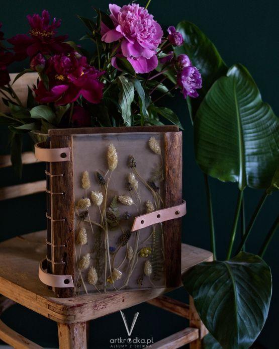 Drewniany album na zdjęcia 3
